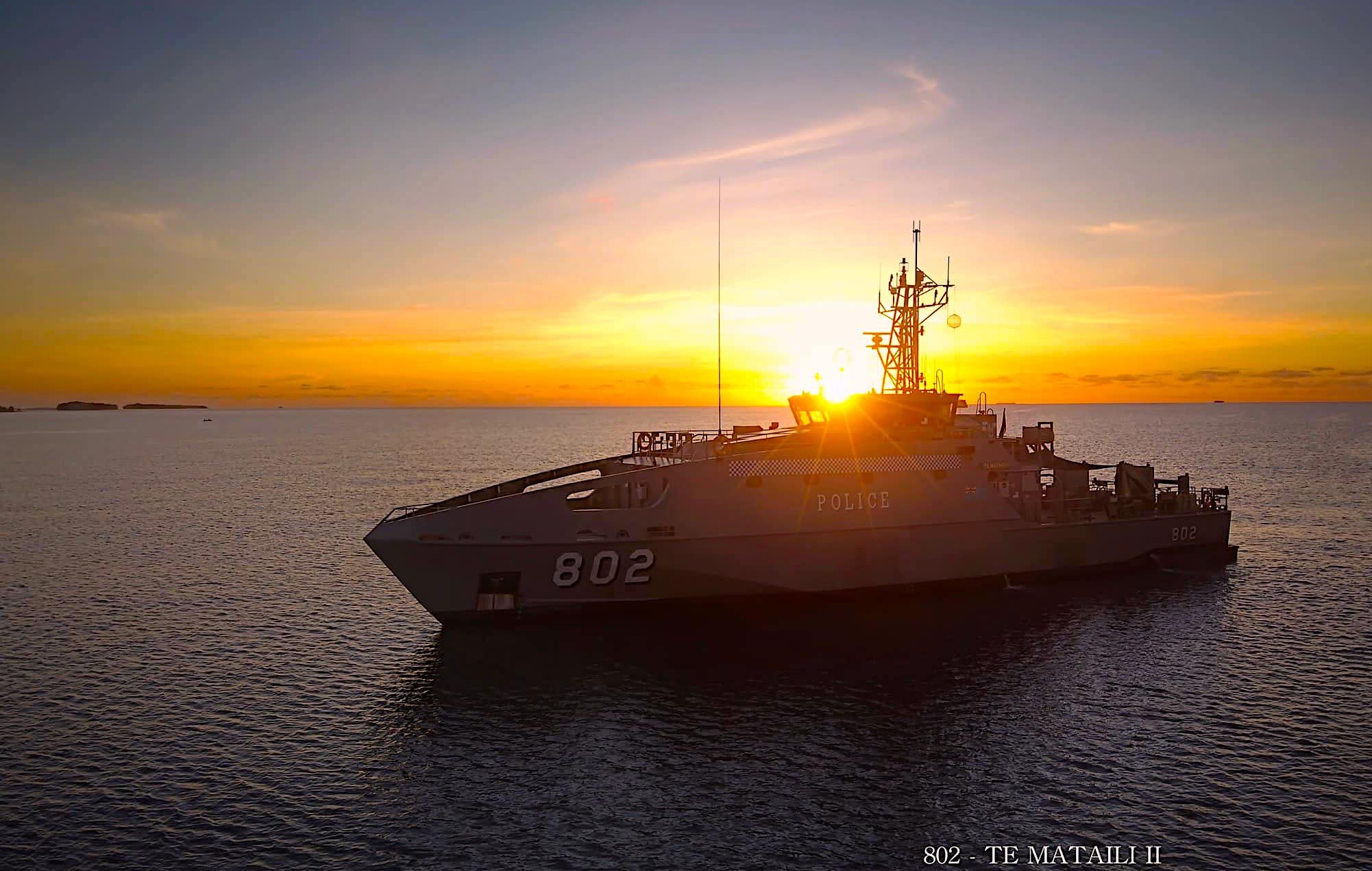 Mataili_Surveillance Patrol Boat